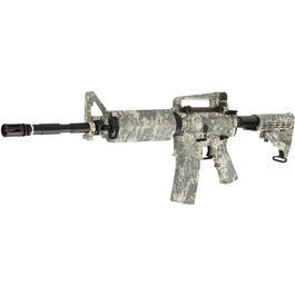 King Arms Navy Seal M4A1 Carbine Vollmetall S-AEG 6mm BB ACU