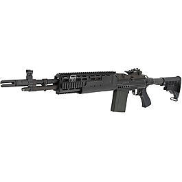Socom Gear MK14 Mod. 1 EBR Vollmetall AWSS Open-Bolt Gas-Blow-Back 6mm BB schwarz