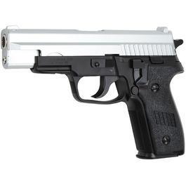Sportwaffen - HFC P229 Long Springer Softair 6mm BB Bicolor