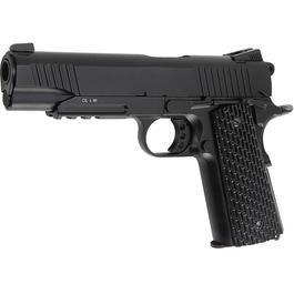 BB Gun - KWC M1911 A1 TAC Vollmetall CO2 Blowback 6mm BB schwarz
