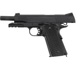 KWC M1911 A1 TAC Vollmetall CO2 Blowback 6mm BB schwarz
