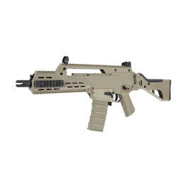 G36 Softair - ICS G33 Compact Assault Rifle S-AEG 6mm BB Desert Tan