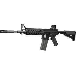 G&G CM16A1 RIS Raider Gas-Blow-Back 6mm BB schwarz