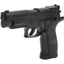 Softair kaufen - G&G G226 Springer 6mm BB schwarz - Shooter Action Set
