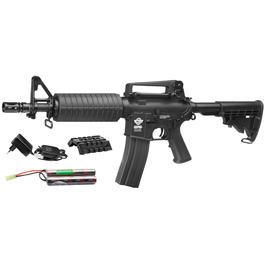 Combat Machine CM16 Light Komplettset AEG 6mm BB schwarz