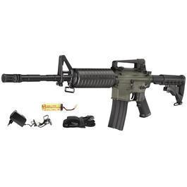 Softair ab 14 - DBoys M4A1 Carbine Komplettset AEG 6mm BB schwarz