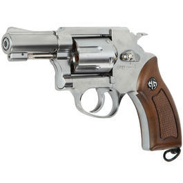 G&G G731 2 Zoll Revolver Vollmetall CO2 6mm BB chrom