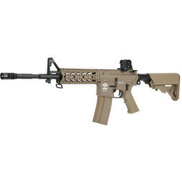 G&G CM16A1 RIS Raider Gas-Blow-Back 6mm BB Dark Earth Tan - V2