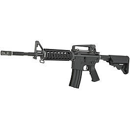 Softair Gun - Wei-ETech M4A1 RIS Carbine Vollmetall S-AEG 6mm BB schwarz