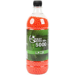 Combat Zone BBs 0,12g 5000er Flasche orange