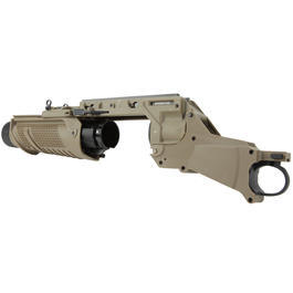 S&T EGLM 40mm Granatwerfer f. Socom-L / Socom-H - Dark Earth Tan