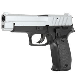 Airsoft-Waffe - SRC P226 Heavy Weight Springer 6mm BB Bicolor