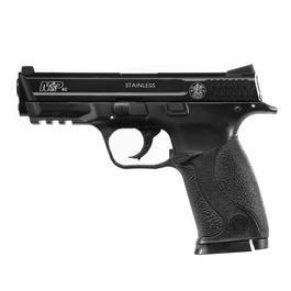 Softair ab 14 - Cybergun S&W M&P 40 HPA mit Metallschlitten Springer 6mm BB schwarz