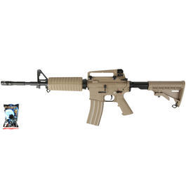 Airsoft - G&G GC16A1 Carbine Vollmetall AEG 6mm BB Desert Tan