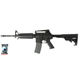 Airsoft-Waffe - G&G GC16A1 Carbine Vollmetall AEG 6mm BB schwarz