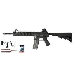 G&G GR15 RIS Raider XL BlowBack Komplettset AEG 6mm BB schwarz