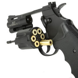 Legends .357 Magnum CTG 2,5 Zoll 6mm BB CO2 Revolver schwarz