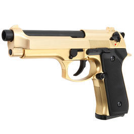 Wei-ETech M92F Vollmetall GBB 6mm BB 24K Gold-Plated Edition