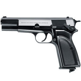 Browning Hi Power Mark III Dark OPS CO2 NBB 6mm BB Metallschlitten
