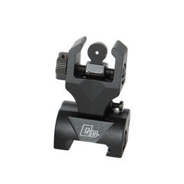 G&G Flip-Up Rear Battle Sight f�r 21mm Schienen schwarz