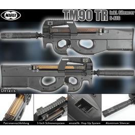 Softair P90 - Tokyo Marui TM90-TR S-AEG 6mm BB