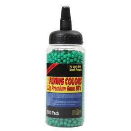 Softairkugeln - Flying Colors Softairkugeln 2000er Schnelllader 0,12g grün