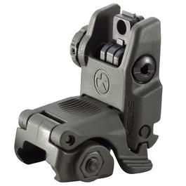 Luftgewehre - MagPul USA MBUS Gen. 2 Rear Folding Battle Sight oliv
