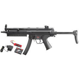 Heckler & Koch MP5 A5 RAS DualPower Komplettset AEG / Springer 6mm BB schwarz