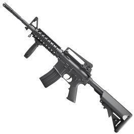 Softair ab 14 - DBoys M4A1 RIS Carbine Metallgearbox Komplettset AEG 6mm BB schwarz