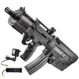 Softair-Waffen - Umarex IWI X95 Advanced Komplettset AEG 6mm BB schwarz