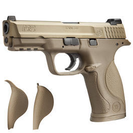 Airsoft - VFC Smith & Wesson M&P 9 mit Metallschlitten GBB 6mm BB Dark Earth Tan