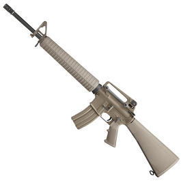 Socom Gear M16A3 Rifle Vollmetall AWSS Open-Bolt Gas-Blow-Back 6mm BB desert