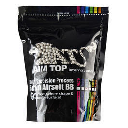 AIM Top Premium Grade Bio BBs 0,25g 3.800er Beutel light-grey