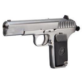 Sportwaffen - Wei-ETech TT-33 Vollmetall GBB 6mm BB Satin-Chrome