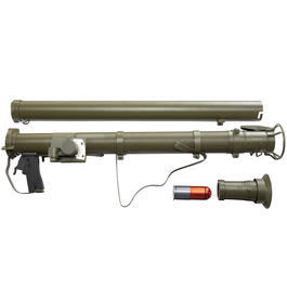 Apple Airsoft US Army M9A1 Bazooka 40mm Granatwerfer oliv