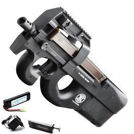Softair P90 - Jing Gong FN P90 TR Komplettset S-AEG 6mm BB schwarz