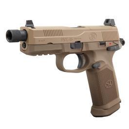Softair-Waffe - VFC FN Herstal FNX-45 Tactical mit Metallschlitten GBB 6mm BB Flat Dark Earth