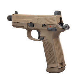 VFC FN Herstal FNX-45 Tactical mit Metallschlitten GBB 6mm BB Flat Dark Earth