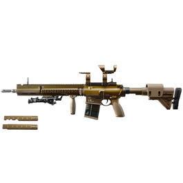 Umarex Waffen - VFC Heckler & Koch G28 DMR 762 Vollmetall S-AEG 6mm BB grünbraun