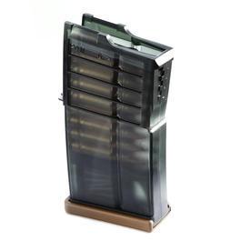 Softair AEG - VFC Heckler & Koch G28 Magazin 100 Schuss rauch-transparent