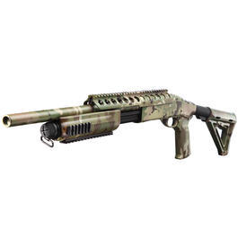 Maruzen - G&P MagPul M870 RAS Tactical Medium Shotgun Vollmetall Springer 6mm BB Multicam