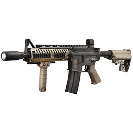 Softairwaffen - Evolution Airsoft Lone Star Ranger SBR Vollmetall S-AEG 6mm BB Dark Earth