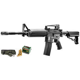 JS-Tactical M4A1 Carbine m. H�lsenauswurffunktion Springer 6mm BB schwarz