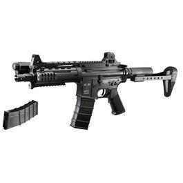 Softair AEG - ICS CXP .08 Concept Rifle Vollmetall S-AEG 6mm BB schwarz