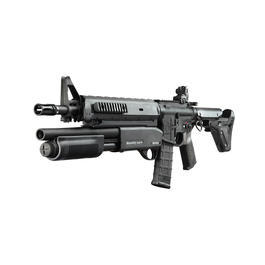 Maruzen - G&P MagPul M4 MOE Battle Rifle mit M870 Masterkey Shotgun S-AEG 6mm schwarz