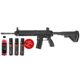 Swat Weste - VFC Heckler & Koch HK416 D145RS Vollmetall Gas-Blow-Back inkl. Munition und Gas