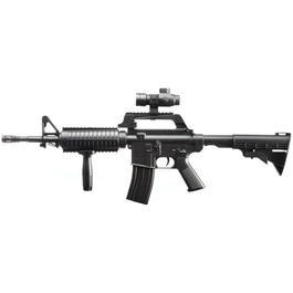 Well MR-744 M4A1 Carbine Springer Softair 6mm BB schwarz