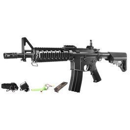 Softair ab 14 - CM M4 CQB RIS II Komplettset AEG 6mm BB schwarz