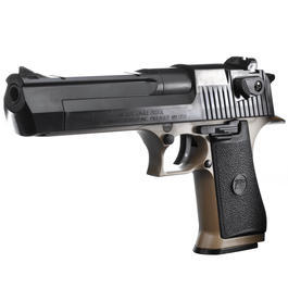 Softair-Waffe - Cybergun Desert Eagle .50AE Springer 6mm BB Bicolor