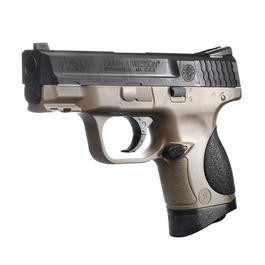 Softairwaffe - Cybergun Smith & Wesson M&P 9C Springer 6mm BB Bicolor
